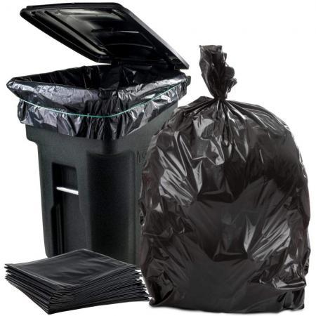 كارخانه توليدي كيسه زباله در سايز هاي متنوع و كيفيتي عالي - nylonha
